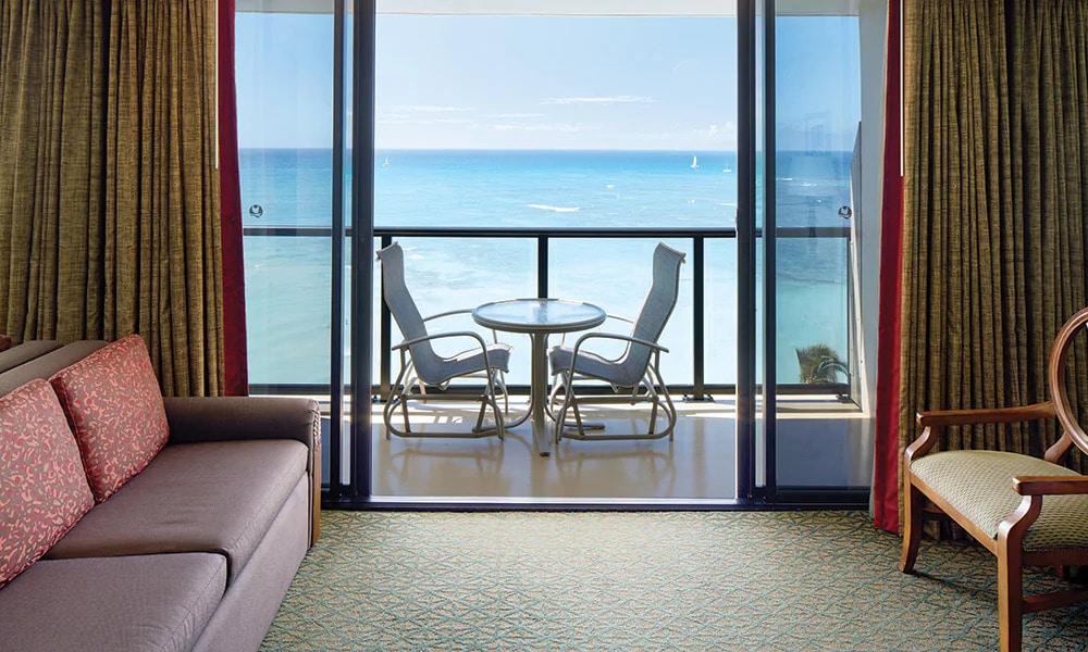 Outrigger Resort Club Balcony