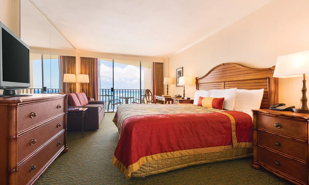 Outrigger Resort Club Bed