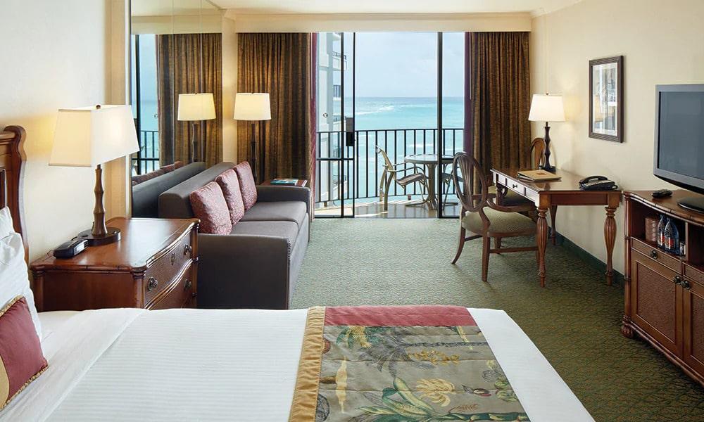 Outrigger Resort Club Bedroom
