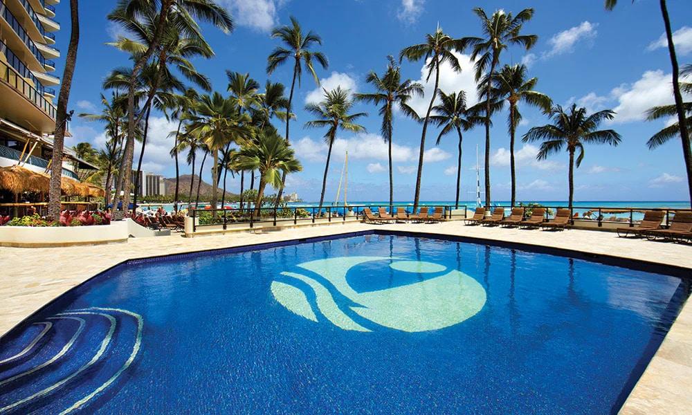 Outrigger Resort Club Pool