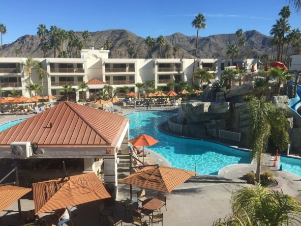 Palm Canyon Resort And Spa Exterior